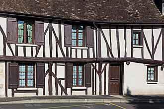 Фахверкові будинки в Provins
