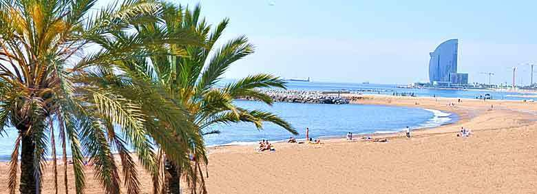 Lovely Barcelona beaches