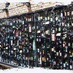 Pivo na zeď v Bruggách