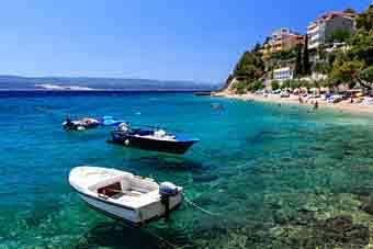 Split, einer Stadt, die noch nicht in Kroatien zu verpassen