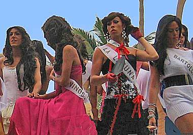 Wild street party at Tenerife Carnival,  19 February – 1 March 2020