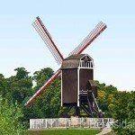 větrné mlýny v bruges