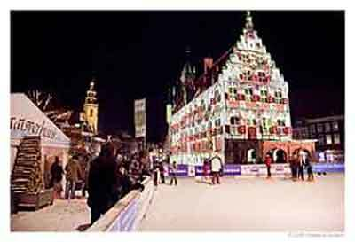 Weihnachten, Candlelight Nacht und Winter-Events in Gouda