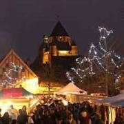 mercado medieval de Navidad