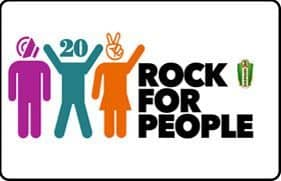 Rock for festival populaire