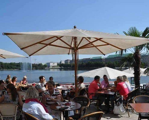 Alex restaurant at Inner Alster
