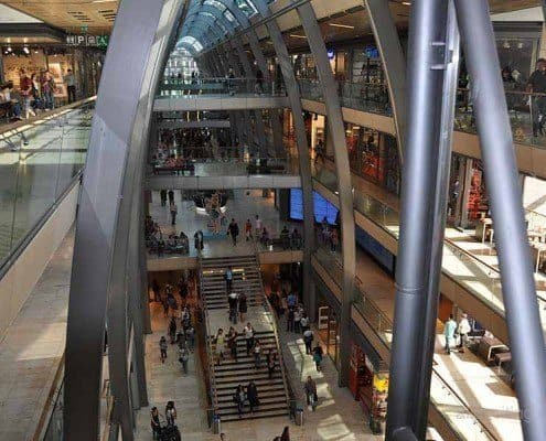 Europa Center comercial Passage Hamburgo