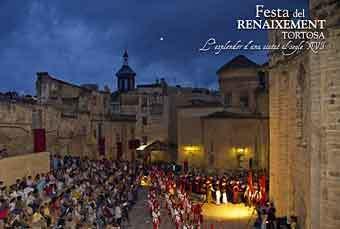 Fiesta del Renacimiento de Tortosa, Tortosa España 18 - 21 July 2019