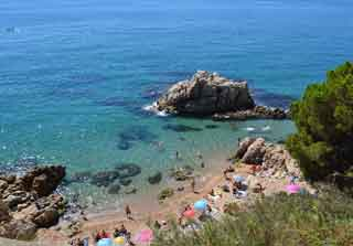 photo of cove on costa del maresme