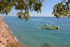 photo costa del maresme beach activities