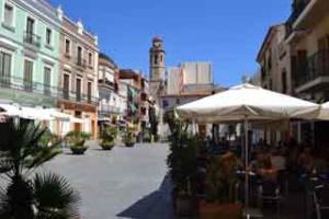 Foto von einer Stadt auf der costa del maresme