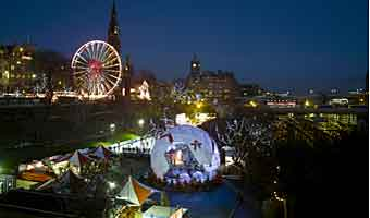 Festivals in Edinburgh, the great festival city