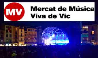 Mercat de Musica Viva de Vic, Spanien. 12 - 16 September 2018