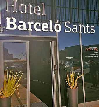 Barcelo Sants hotell Barcelona