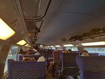 paris barcelona train