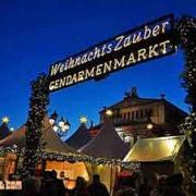 Christmas market on Gendarmenmarkt