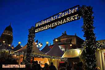 Christmas market on Gendarmenmarkt