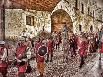 festival de rose médiéval