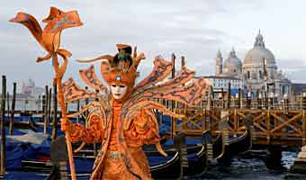 Enjoy the famous Venice Carnival 2019. It's Going on February 16 – March 5