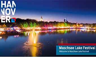 Maschsee Lake Festival Hannover, Germany. 1 -19  August 2018