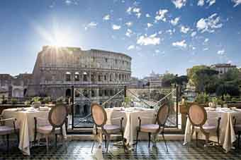 romantic hotels in Rome