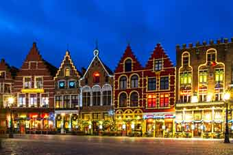 božićno tržište u Brugesu