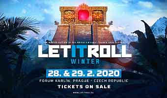 Let It Roll Festival de Inverno, Drum and Bass - Praga, 28 - 29 Fevereiro 2020