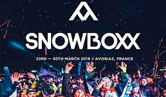 Festival de Música Snowboxx nos Alpes Franceses 21 - 28 March 2020