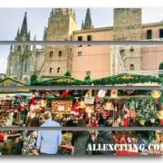Julmarknader Barcelona - Santa Lucia Market