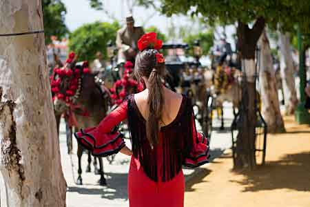 Cordoba Fair Festival, Cordoba Spain in May 2020