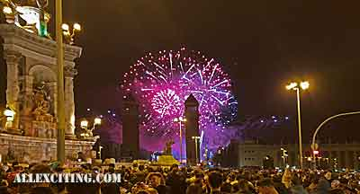 new years evening barcelona