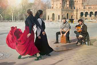 flamenco w Sewilli