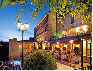 Luksushotel i Gordes, Provence