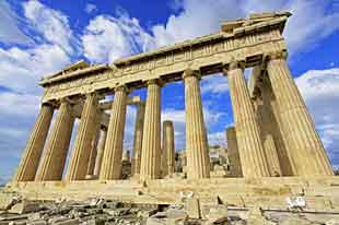 Le Parthénon - Acropole - Athènes