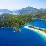 Oludeniz and the beautiful blue lagoon, Turkey