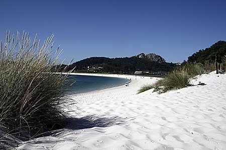Cies Islands og Vigo by