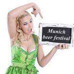 Münih güçlü bira festivali