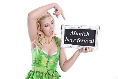 Mnichov silný pivní festival