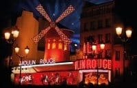 Show im Moulin Rouge Paris