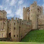 The Historic Warwick Castle in Midlands England