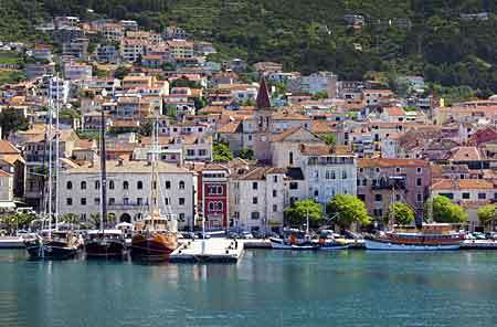 Makarska City - Rivierans hjärta