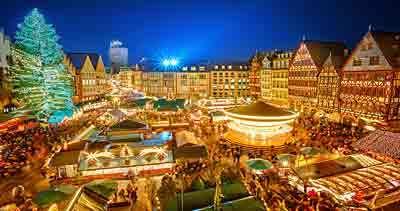 Frankfurt Vánoční trh