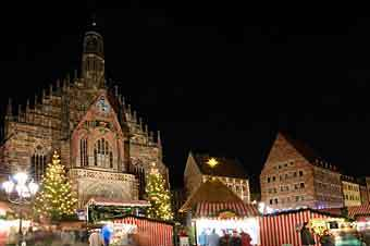 Kerstmarkt in Neurenberg