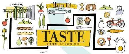 taste logo florence