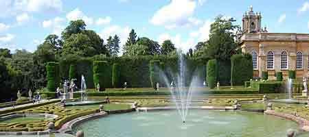 Бленхейм-palace_garden