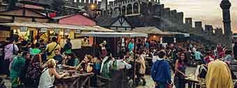 obidos μεσαιωνική αγορά