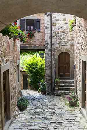 Montefioralle شنتي