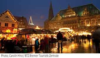 Brémy vánoční trh