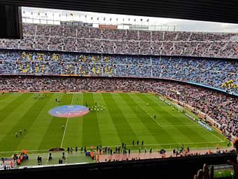 Camp Nou barca Barcelone