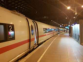 train to hamburg